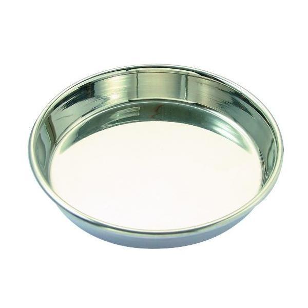 ステンレス食器皿型12cm/ 猫餌入れ
