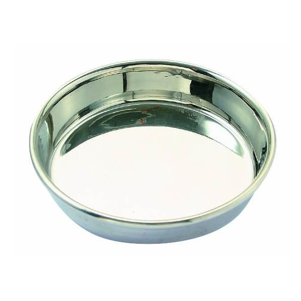 ステンレス食器皿型11cm/ 猫餌入れ