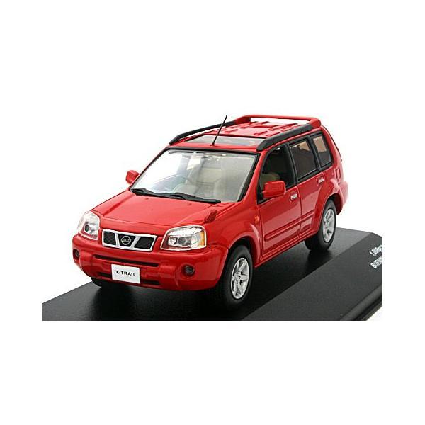 ニッサン X-TRAIL GT 2005 バーニングレッド (1/43 J-コレクションJC19073BR)|v-toys