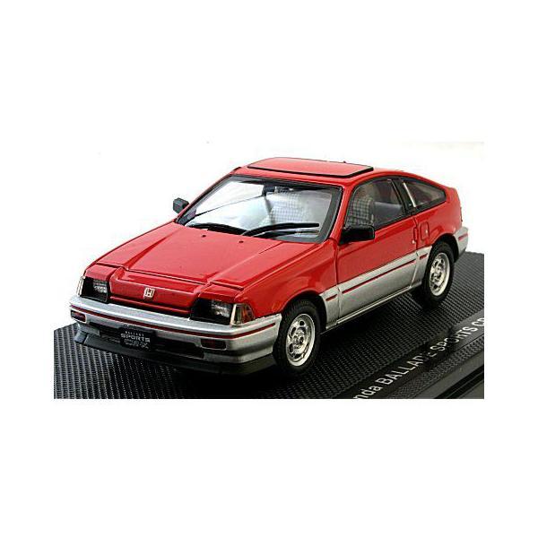 ホンダ CR-X 1983 レッド (1/43 エブロ44114)|v-toys