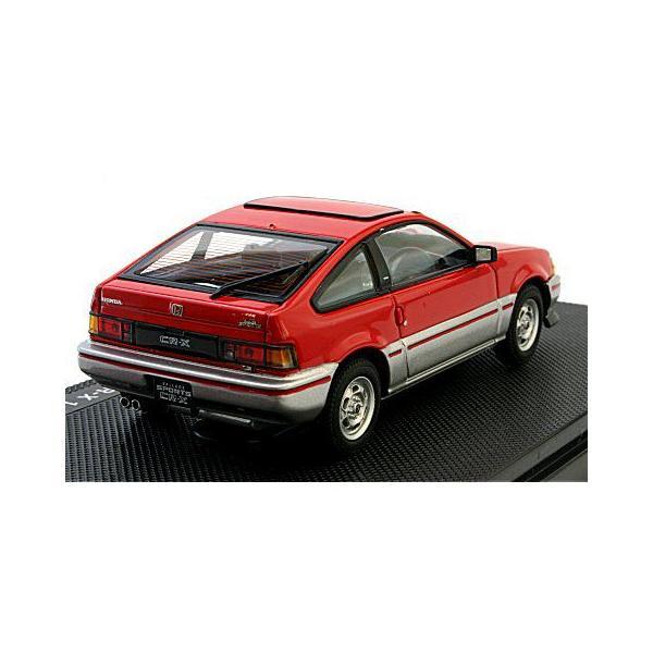 ホンダ CR-X 1983 レッド (1/43 エブロ44114)|v-toys|02