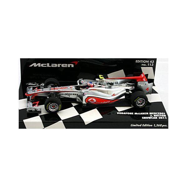 ボーダフォン マクラーレン メルセデス J・バトン ショーカー 2011 (1/43 ミニチャンプス530114374)|v-toys