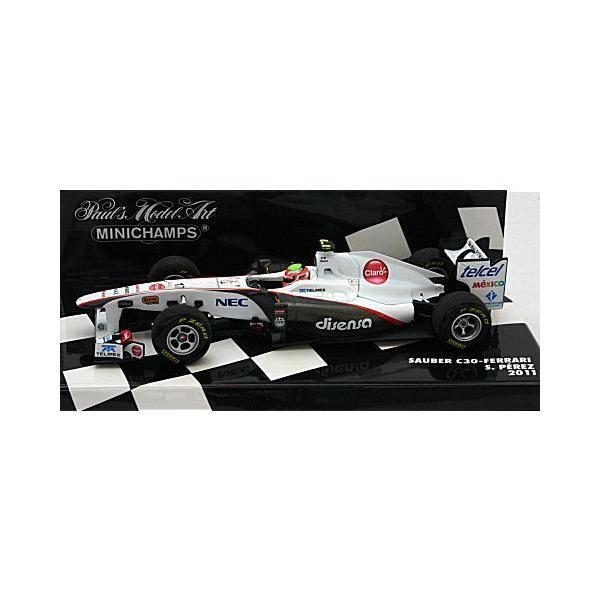 ザウバー F1チーム C30 S・ペレス 2011 (1/43 ミニチャンプス410110017)|v-toys