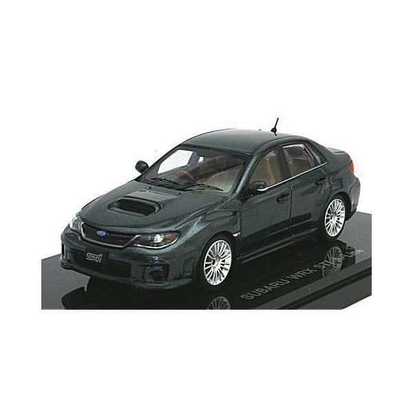 スバル インプレッサ WRX STI 4ドア Aライン グレー (1/43 エブロ44398) v-toys