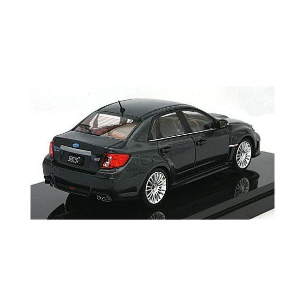 スバル インプレッサ WRX STI 4ドア Aライン グレー (1/43 エブロ44398) v-toys 02