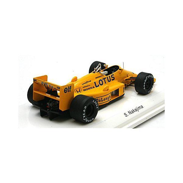 ロータス 99T 1987 イギリスGP 4位 No11 中嶋悟 (1/43 レーヴコレクションR70182)|v-toys|02