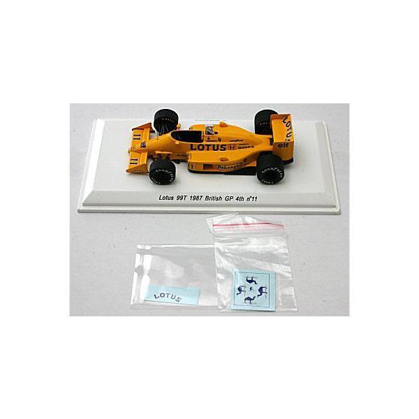 ロータス 99T 1987 イギリスGP 4位 No11 中嶋悟 (1/43 レーヴコレクションR70182)|v-toys|03
