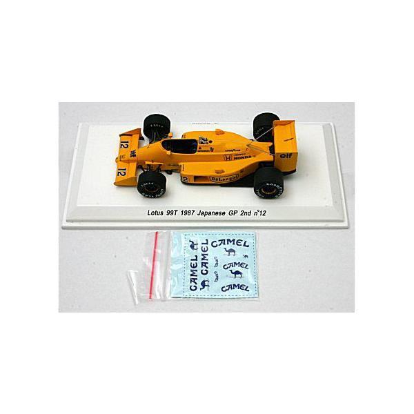 ロータス 99T 1987 日本GP 2位 No12 A・セナ (1/43 レーヴコレクションR70183) v-toys 03