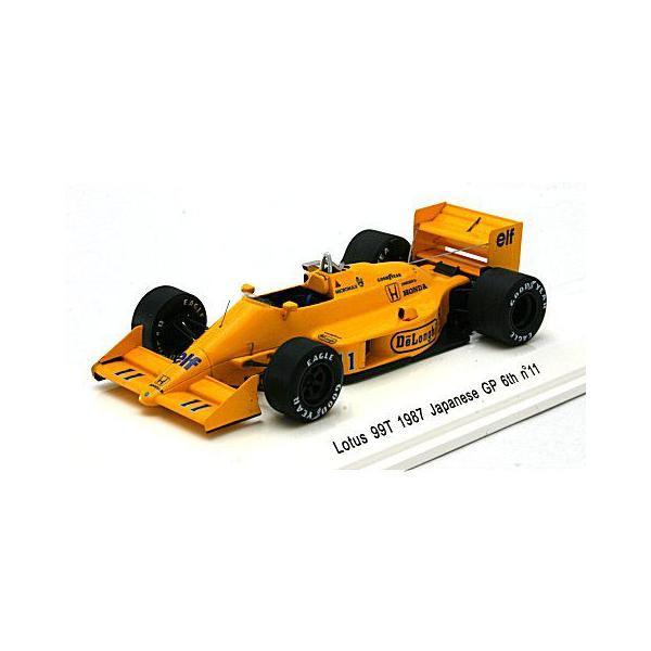 ロータス 99T 1987 日本GP 6位 No11 中嶋悟 (1/43 レーヴコレクションR70184)|v-toys