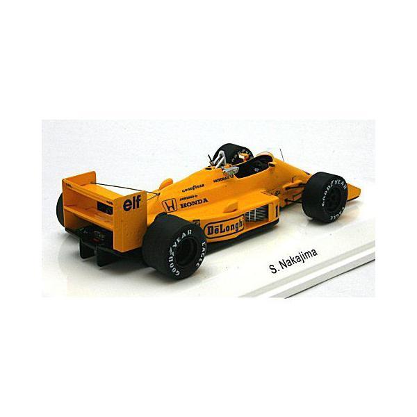 ロータス 99T 1987 日本GP 6位 No11 中嶋悟 (1/43 レーヴコレクションR70184)|v-toys|02