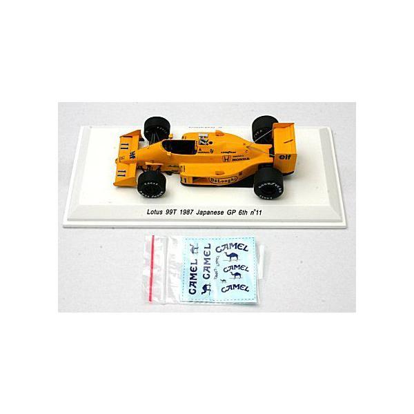 ロータス 99T 1987 日本GP 6位 No11 中嶋悟 (1/43 レーヴコレクションR70184)|v-toys|03