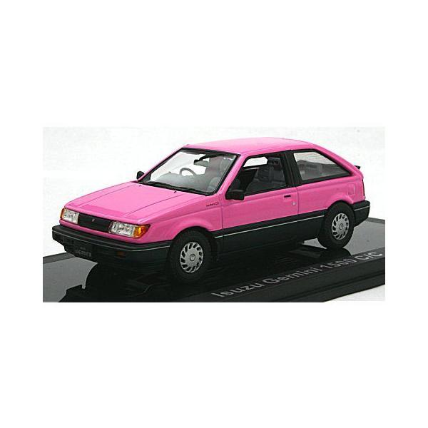 いすゞ ジェミニ 1500 C/C 1987 ペルシャンローズ (1/43 ノレブ800726) v-toys