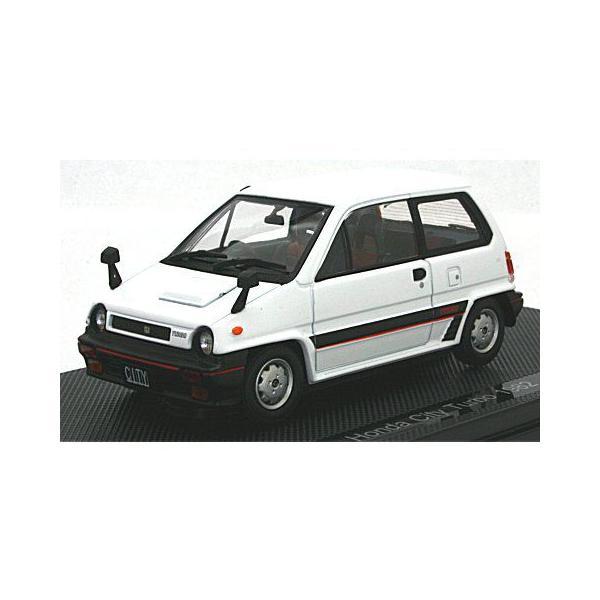 ホンダ シティ ターボ 1982 ホワイト (1/43 エブロ44972)|v-toys