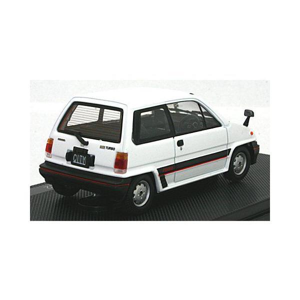 ホンダ シティ ターボ 1982 ホワイト (1/43 エブロ44972)|v-toys|02
