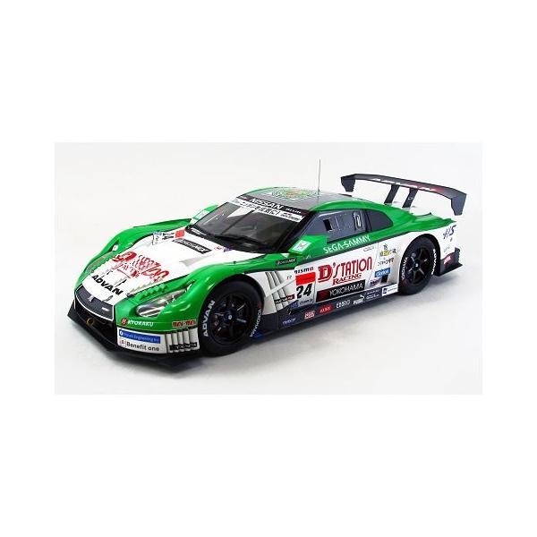 ディーステーション アドバン GT-R SGT500 2013 No24 (1/18 エブロ81008)|v-toys