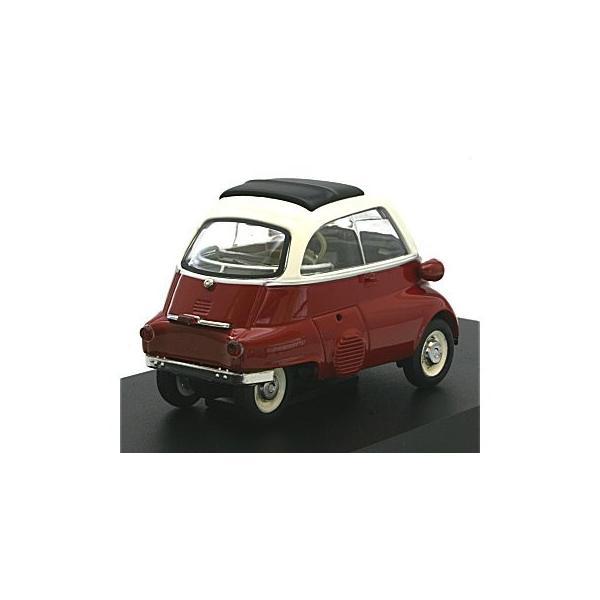 BMW イセッタ スタンダード レッド/ホワイト (1/43 シュコー450210800)|v-toys|02