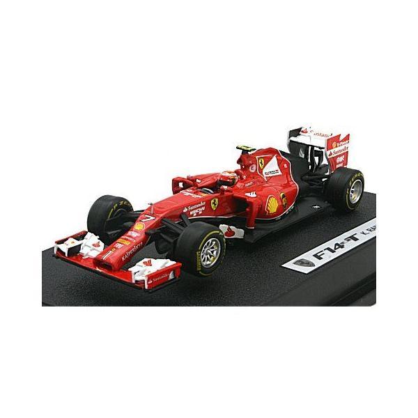 フェラーリ F-1 2014 F14 T No7 ライコネン ドライバー付 (1/43 マテルMTBLY70)|v-toys