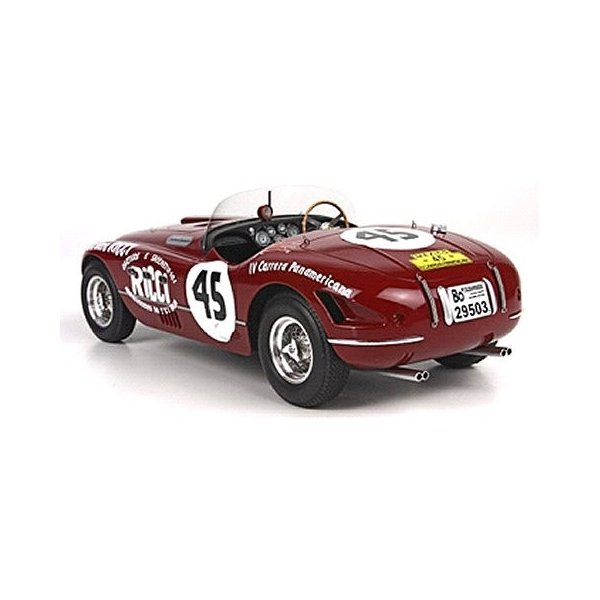 フェラーリ 340スパイダー Vignale4 カレラ パナメリカーナ Chinetti-De-Portago No45 (1/18 BBR BLM1806)|v-toys|02