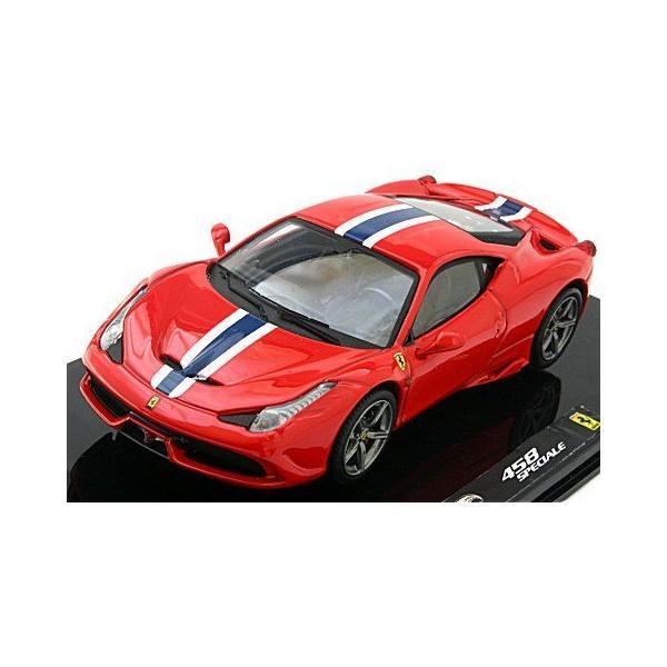 フェラーリ 458 スペチアーレ レッド (1/43 マテルMTBLY45) v-toys