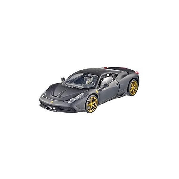 フェラーリ 458 スペチアーレ マットブラック (1/43 マテルMTBLY47)|v-toys