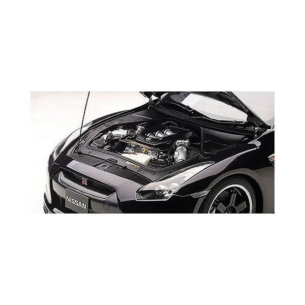ニッサン GT-R (R35) スペックV オパールブラック (1/12 オートアート12201)|v-toys|02