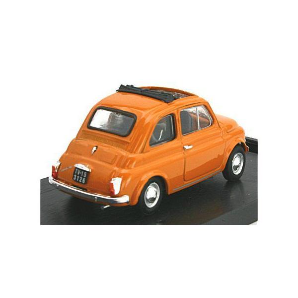 フィアット 500F  1965-72 オープントップ イエロー (1/43 ブルムR454-13)|v-toys|02
