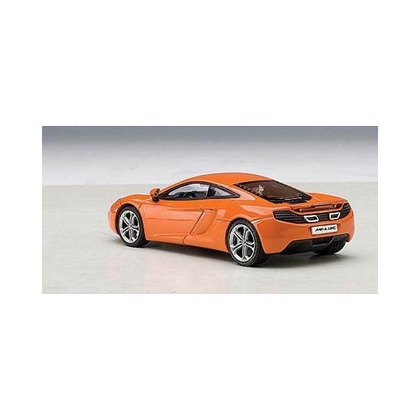 マクラーレン MP4-12C オレンジ (1/43 オートアート56006)|v-toys|02