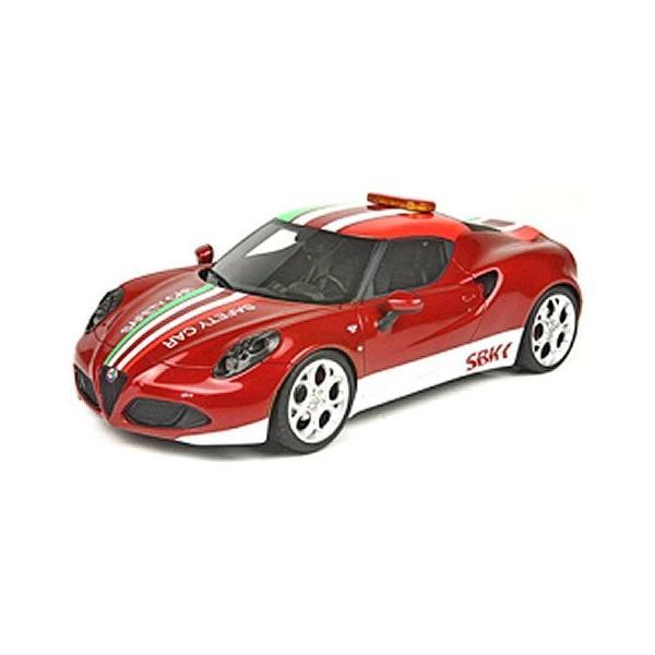 アルファロメオ 4C SBK セーフティーカー (1/18 トップマーケスTOP10SC)|v-toys