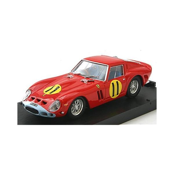 フェラーリ 250 GTO 4399GT 1963 ツーリストトロフィー グッドウッド1位 No11 Graham Hill (1/43 ブルムR537)|v-toys