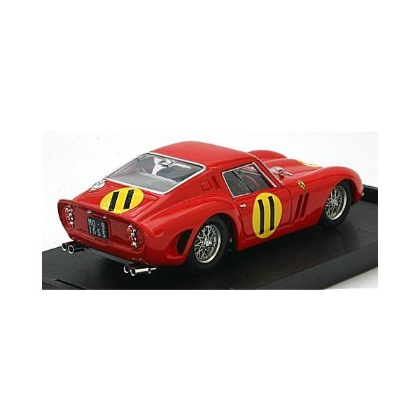 フェラーリ 250 GTO 4399GT 1963 ツーリストトロフィー グッドウッド1位 No11 Graham Hill (1/43 ブルムR537)|v-toys|02