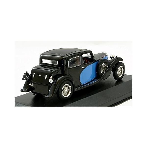 ブガッティ Type 57 ギャリビエ 1935 ブラック/ブルー (1/43 イクソMUS058)|v-toys|02