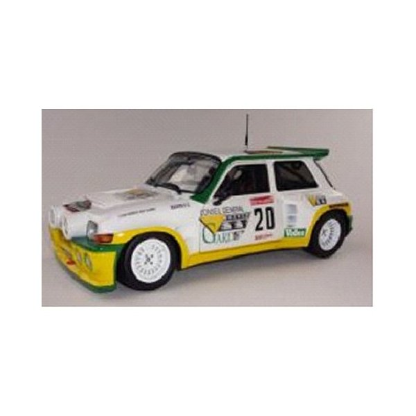 ルノー マキシ 5 (サンク) ターボ ガリゲスラリー ホワイト/イエロー (1/18 ソリドS1850001)|v-toys