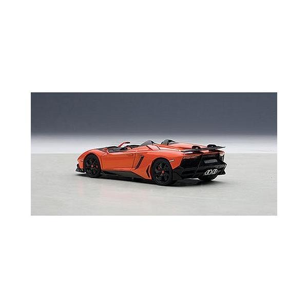 ランボルギーニ アヴェンタドール J オレンジ (1/43 オートアート54652)|v-toys|02