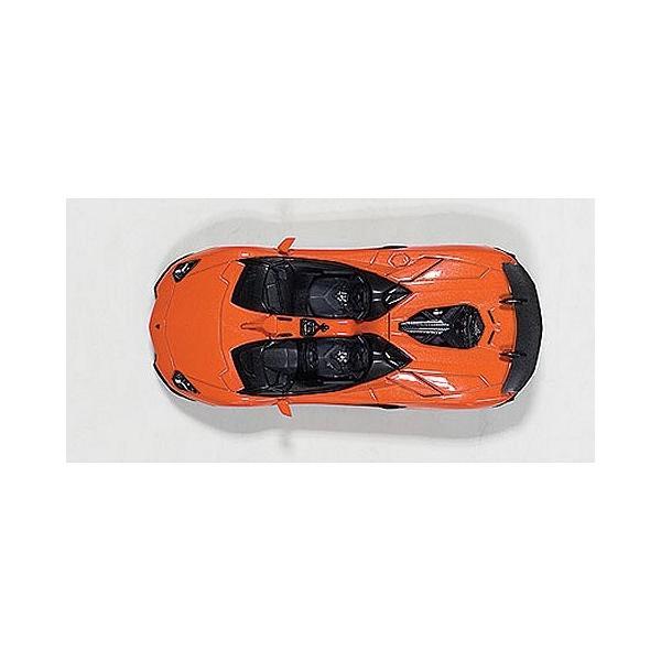 ランボルギーニ アヴェンタドール J オレンジ (1/43 オートアート54652)|v-toys|03