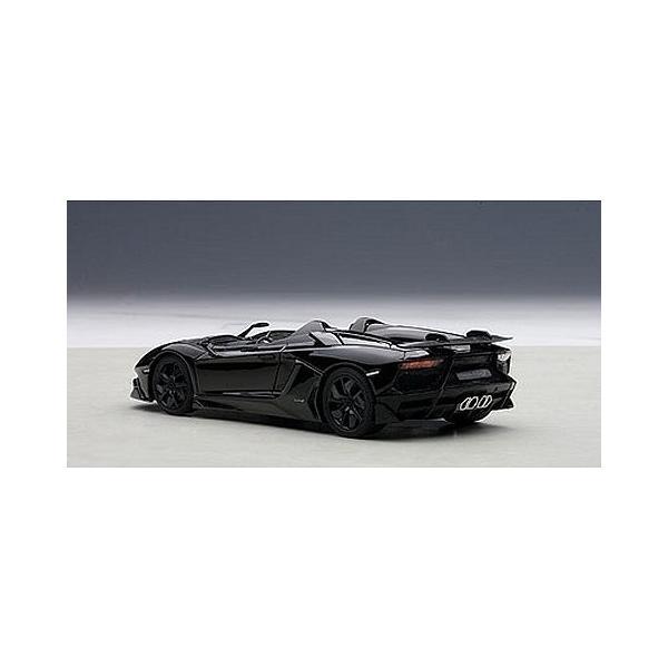ランボルギーニ アヴェンタドール J ブラック (1/43 オートアート54653)|v-toys|02