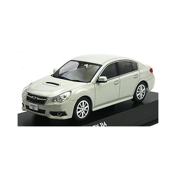 スバル レガシィ B4 サテンホワイトパール (1/43 京商KS03650W)|v-toys