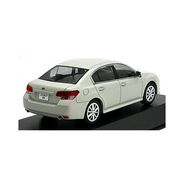 スバル レガシィ B4 サテンホワイトパール (1/43 京商KS03650W)|v-toys|02