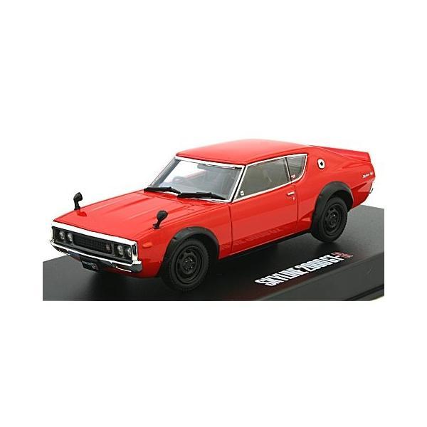 KGC110 ケンメリ スカイライン HT 2000GT-R レッド (1/43 ディズム80382)|v-toys