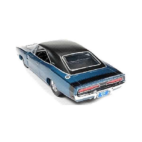 1969 カスタム ダッジ チャージャー ミディアムブルーポリー (1/24 アメリカンマッスルAW24005)|v-toys|03