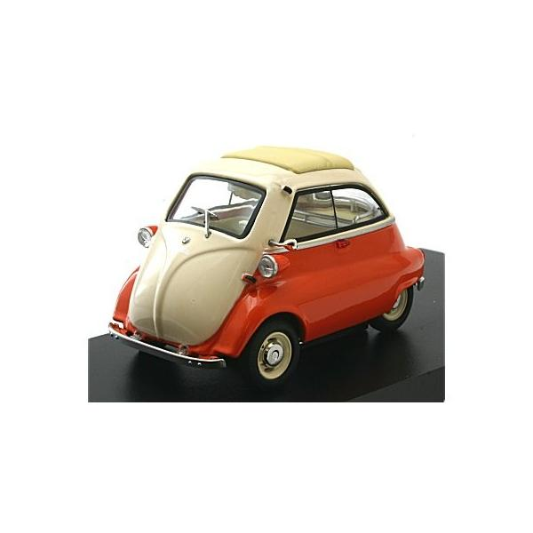 BMW イセッタ ベージュ/オレンジ (1/43 シュコー450211600)|v-toys
