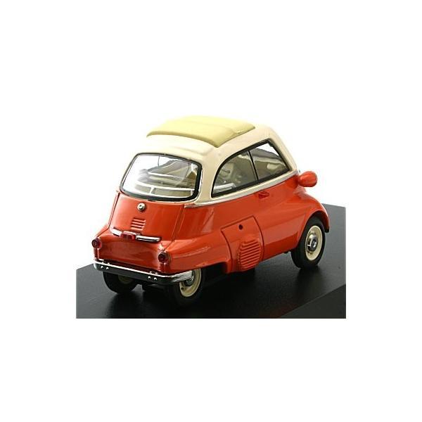 BMW イセッタ ベージュ/オレンジ (1/43 シュコー450211600)|v-toys|02