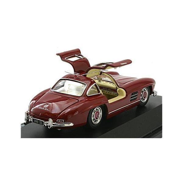 メルセデスベンツ 300SL レッド (1/43 シュコー450249500)|v-toys|02