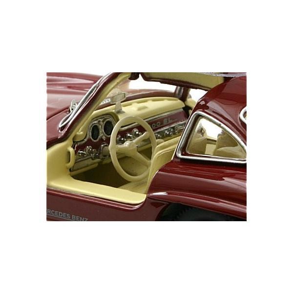 メルセデスベンツ 300SL レッド (1/43 シュコー450249500)|v-toys|03
