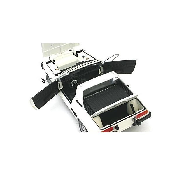フィアット X1/9 1974 ホワイト (1/18 ミニチャンプス100121665)|v-toys|03