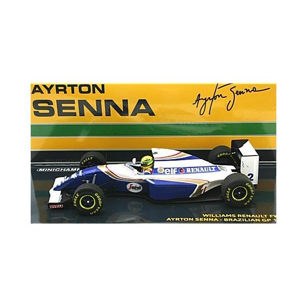 ウィリアムズ ルノー FW16 A・セナ ブラジルGP 1994 セナ・コレクション (1/43 547940102)|v-toys