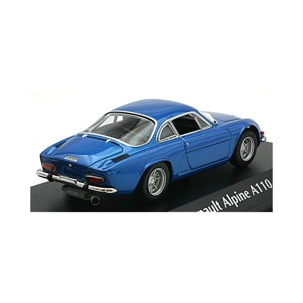 ルノー アルピーヌ A110 1971 ブルーM (1/43 ミニチャンプス940113600)|v-toys|02