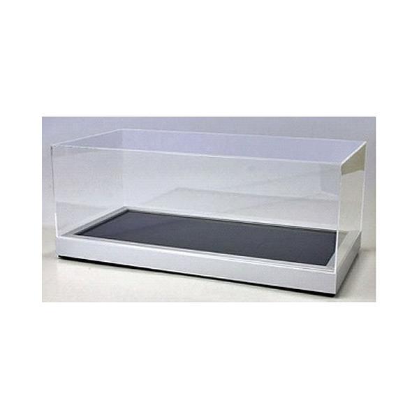 1/12スケール アクリルケース&ベース (アルミプレート/カーボンシート) (1/12 京商KS02072)|v-toys