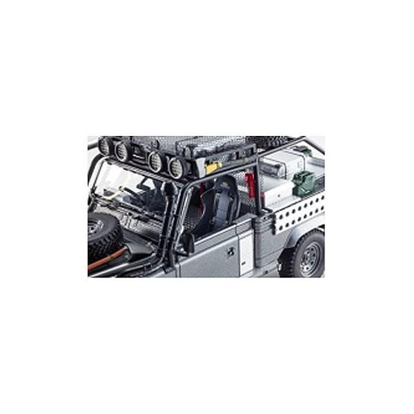 ランドローバー ディフェンダー ムービーエディション (1/18 京商KSR08902TR)|v-toys|04