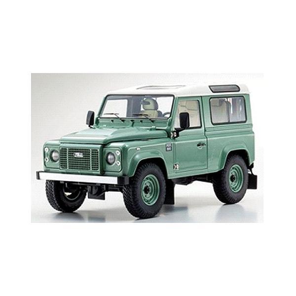 ランドローバー ディフェンダー ヘリテージ グリーン  (1/18 京商KS08901GGR)|v-toys