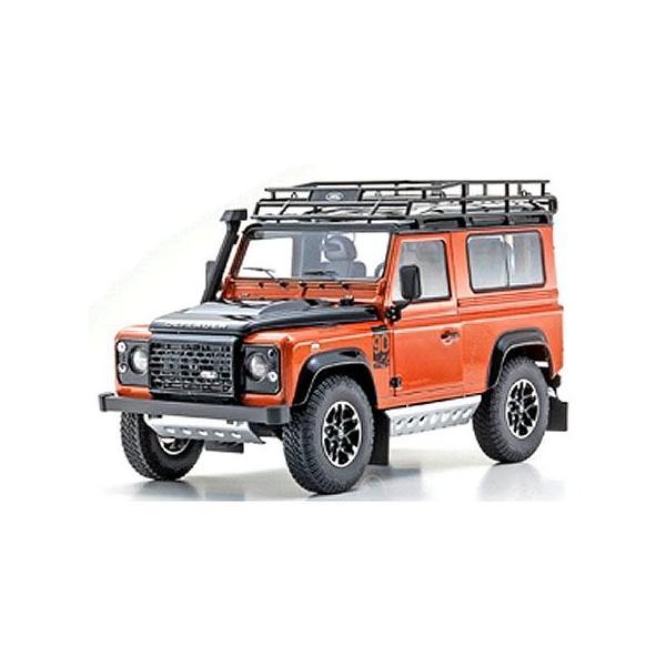ランドローバー ディフェンダー アドベンチャー オレンジ  (1/18 京商KS08901P)|v-toys